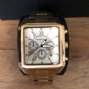 Saks Fifth Avenue Gold Tone Watch